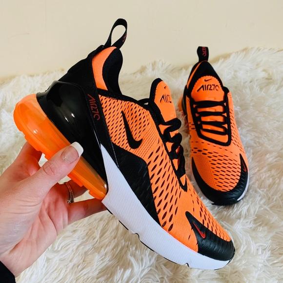 half off c182c 64001 Nike Air Max 270 Total Orange NWT